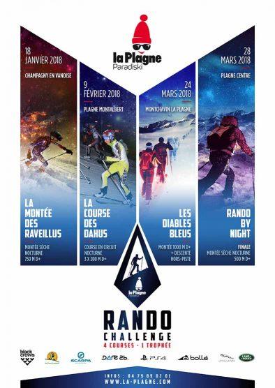Nouveauté 2018 : le Rando Challenge !